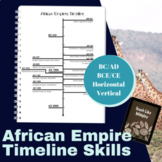 African Empires - ADVANCED Timeline Practice