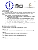 Timeline Project Instructions