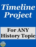 Timeline Project for ANY History Topic