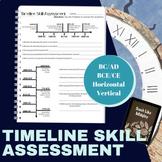 Ancient Civilizations: Timeline Skill Assessment