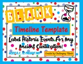 Timeline Template (Blank) - Perfect for Ancient History Studies