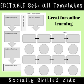 Timeline Templates {15 Differentiated Templates For k-5th Grade or Ability}