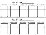 Timeline Worksheet for Elementary