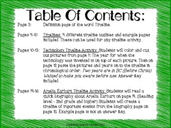timeline worksheets templates by teacher s exhale tpt