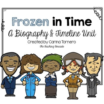 Timeline and Biography Unit- Frozen in Time