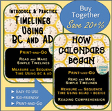 Timeline and Calendar Bundle~ Print-and-Go