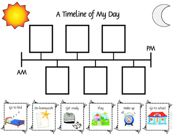 Timeline and Sequence Worksheets