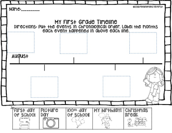 Timeline Cut And Paste Worksheets & Teaching Resources | TpT