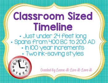 Timeline for Classroom