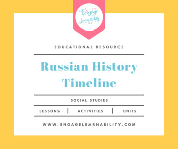 Timeline for Russian History