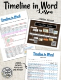 Timeline in Word
