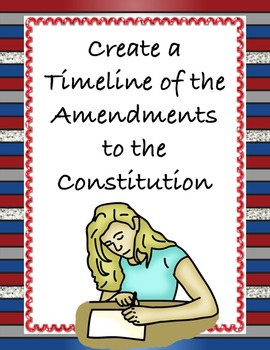 Timeline of Amendments to the Constitution - Includes the