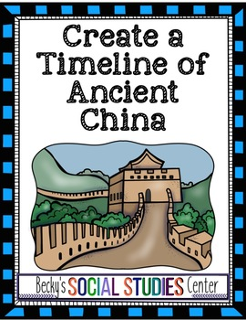 Ancient China Timeline Activity Dynasties and Philosophies