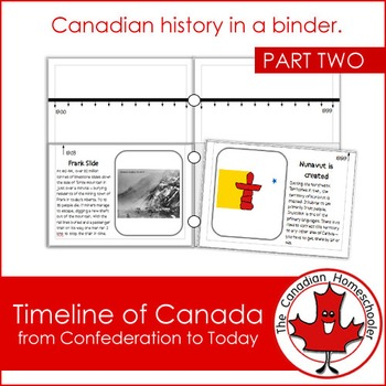 Canadian History: Timeline of Canada (From Confederation to Today)