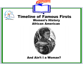 Black History Month - Timeline of Famous Firsts in Women's History