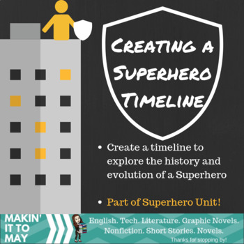 Timeline of a Superhero Activity