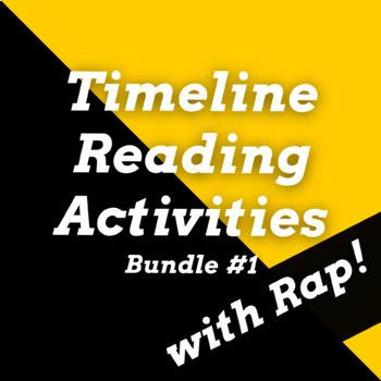 Timeline Worksheets: Historical Figures Timeline Passages, Questions & Rap Songs