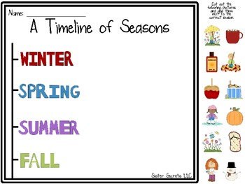 Timelines [Activities and Worksheets]