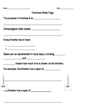 Timelines Guided Notes and Study Guide