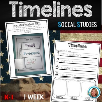 Timelines Kindergarten and 1st Grade Unit