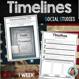 Timelines Kindergarten and 1st Grade Unit