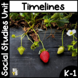 Timelines NO PREP Kindergarten Social Studies Mini-Unit