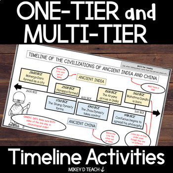 Timelines: One-Tier Timelines and Multi-Tier Timelines