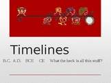 Timelines - PowerPoint with Assessment Questions