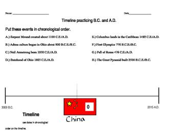 Timelines Unit