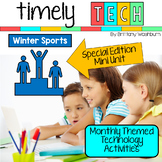 Timely Tech - 16 Winter Sports Themed Technology Activities