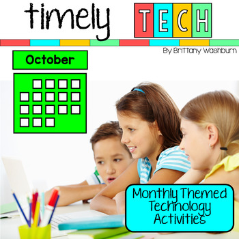 Timely Tech - 20 October Themed Computer Lab Lessons