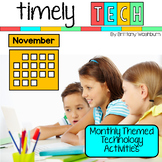 Timely Tech - 22 November Themed Computer Lab Lessons