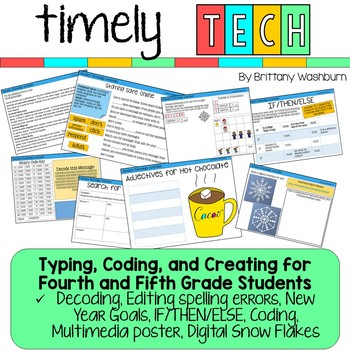 Timely Tech - 23 January Themed Technology Activities