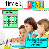 Timely Tech - 23 March Themed Technology Activities