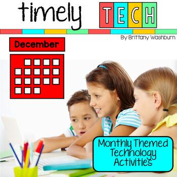 Timely Tech - 25 December Themed Technology Activities