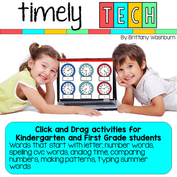 Timely Tech - 25 Summer Themed Technology Activities