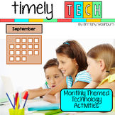 Timely Tech - 26 September Themed Technology Activities