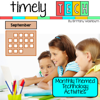 Timely Tech - 26 September Themed Computer Lab Lessons