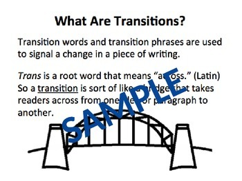 Timely Transitions: Where and When to Use Them