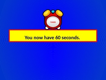 Timer - 60 second PowerPoint Timer