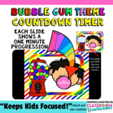 Timer: Countdown 20 Minutes (or less): Bubble Gum Theme: F