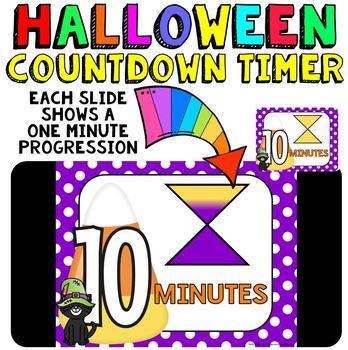 timer countdown 10 minutes or less use with your halloween