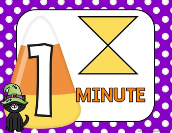 Timer: Countdown 10 Minutes (or less): Use with your Halloween Activities