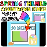 Timer: Countdown 10 Minutes (or less): Use with your Spring Activities