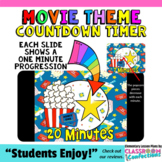 Timer: Countdown 20 Minutes (or less): Movie Theme: Fun for Math Centers
