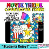 Timer: Countdown 20 Minutes (or less): Movie Theme: Fun fo