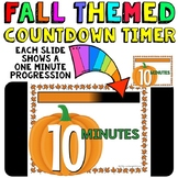 Timer: Countdown 10 Minutes (or less): Pumpkin Theme for F