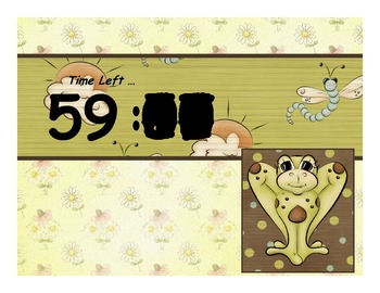 Timer - Frog Clock - Up to 60 minutes