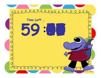 Timer - Monster Clock - 60 Minutes