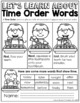 Time Order Words NO PREP Packet